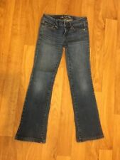 """American Eagle Outfitters"" Stretch Boot Cut Jeans Cotton/Spandex Size 2"