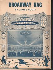 Broadway Rag 1922 James Scott Sheet Music