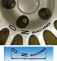 OZ Racing Ruota Centro Decalcomania Per Borchie 112PCD Blk X2 Vari Colore