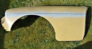 USED MGB GT 1975-1981 RUBBER BUMPER NEAR (LH) SIDE WING IN VERY GOOD CONDITION