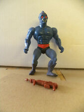 Mattel 1984 He-Man Masters of the Universe WEBSTOR with gun figure mf