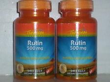 RUTIN 500MG  BLOOD VESSEL VERIOSE VEIN HEART SUPPLEMENT120 TABLETS 2 BOTTLES