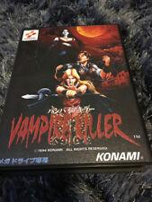Vampire Killer SEGA Mega Drive JAP Version - Custom Game - Grade AAA+++