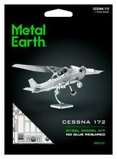 Fascinations Metal Earth Cessna Skyhawk 172 Aircraft 3D Steel Puzzle Model Kit