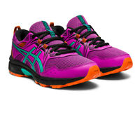 Asics Girls Gel-Venture 8 GS Running Shoes Trainers Sneakers Multicoloured
