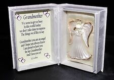 Grandmother wedding favour Guardian Angel poem Box gift wrapped wedding gift