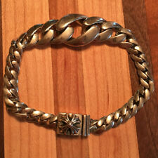 Id Classic Link Bracelet, Pre-Owned Authentic 2012 Chrome Hearts Tapered