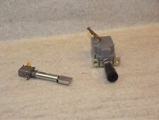 Akai GX-F60R Cassette Deck Original  Power Switch and Memory Switch Part