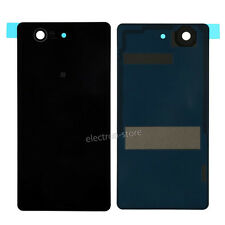 Replacement Battery Back Cover Glass For Sony Xperia Z3 Compact z3mini Black
