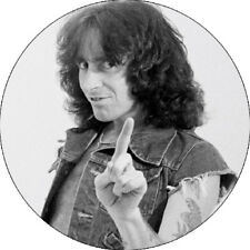 IMAN/MAGNET BON SCOTT . ac/dc angus malcom young hard rock rock and roll