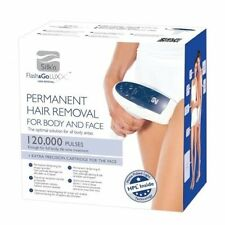 Silk'n FLASH N' GO LUX Face & Body Hair Removal Device 125,000 Pulses  *GENUINE*