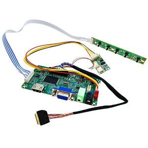 "HDMI VGA Video Audio Control Board for iPad1 iPad2 LCD Panel 9.7"" LTN097XL01"