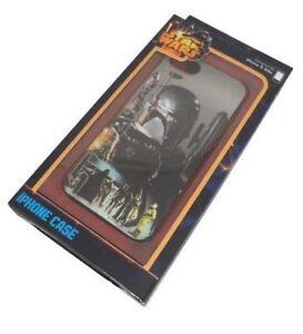 Star Wars Officiel Boba Fett Silicone IPHONE 5/5S Téléphone Étui / Housse Neuf