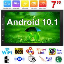 7 Zoll Android 10.1 Autoradio Stereo GPS Navi WIFI Bluetooth FM USB MP5 MP3 HD
