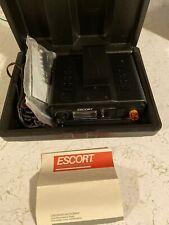 Vintage ESCORT RADAR Warning Receiver Detector Reader Retro Car Auto USA