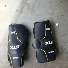 Stx Stallion 200 Lacrosse Arm Pads Black Size S/M