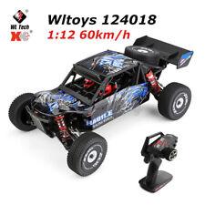 Wltoys 60km/h RC Auto 1:12 4WD Elektrische Offroad Wüsten LKW Modelle RC Car DE