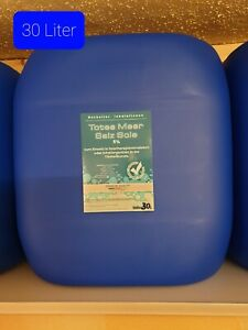 30 Liter 5% ige TotesMeer Salz Sole  SoletherapieSalzkammer Pferde Inhalation