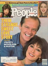 1985 People July 8 - Jack Nicholson;Anjelica Huston; Phil Collins; Rambo;Madonna