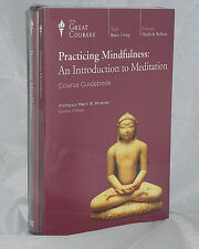 NEW DVDs 24 Lectures Practicing Mindfulness The Great Courses Teaching Company