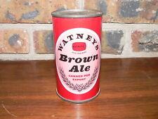 Vintage Watneys Brown Ale Flat Top Beer Can~UK Import~Excellent Condition
