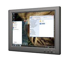 """Lilliput Um-80/c/t 8"""" 4 3 LCD Monitor Touch Screen With USB Power on"""
