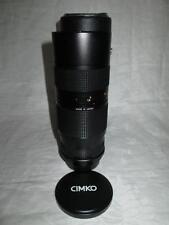 CIMKO MC Compacto 80-200mm Lente 3.8 (montaje) Entubado Pentax K