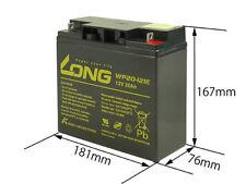 Battery 12V/20Ah Castel Garden TC102, TCP102, J92 Honda Mountfield John Deere