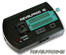REVELPROG-IS SERIAL FLASH & EEPROM PROGRAMMER (1.8V - 5V + ISP, USB)