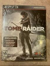 Tomb Raider Playstation 3 PS3 Comic Book Aviatrix Skin Shanty Town Limited Editi