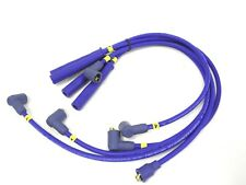 Magnecor 8mm Ignition HT Leads Ford Fiesta Mk2 XR2 1.6 CVH carb LUB