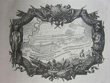 1725 BATAILLE DE HOGSTEDT battle Blenheim Höchstädt Bavaria Dumont War Spanish