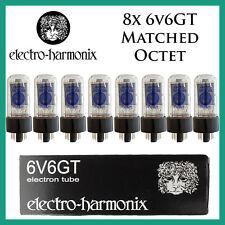 New 8x Electro Harmonix 6V6GT / 6V6 | Matched Octet / Eight Tube | EH | FreeShip