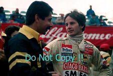 Gilles Villeneuve Ferrari F1 Portrait Photograph 4