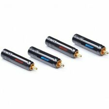 NEOTECH DG-201 Connecteurs RCA pin central OFC Ø10.6mm (Set x4)
