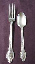New ListingThe Fontainebleau Miami Silverplate Fork & Spoon Falmouth Pattern 1914