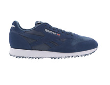 Mens REEBOK CL LEATHER WG RIPPLE Blue Trainers BS9040