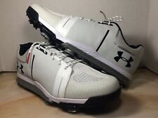 Under Armour Ua Tempo Sport Golf shoes men size 7 white 1288576-101