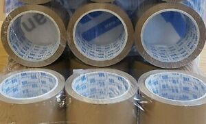 LONG LENGTH PACKING TAPE STRONG - BROWN / CLEAR / 48mm x 66M PARCEL TAPE