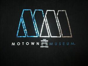 2XL MOTOWN MUSEUM T SHIRT Detroit Retro 60s Soul Music Hitsville Berry Gordy XXL