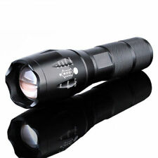 90000Lumen T6 LED 18650 Zoomable Super Bright Aluminum Flashlight Torch Light
