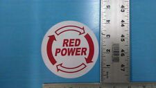 "IH Red Power sticker decal sticker 4"" round Case IH Ag International Harvester"