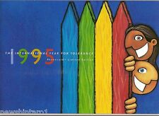 #T28.  TELSTRA   PHONECARD PACK - INTERNATION YEAR FOR TOLERANCE, 1995