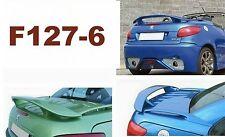 SPOILER ALETT  PEUGEOT 206 CC  GREZZO E KIT DI MONTAGGIO F127-6G-SS127-6-1