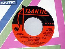 Ben E. King: Supernatural Thing / part 2  [Unplayed Copy]