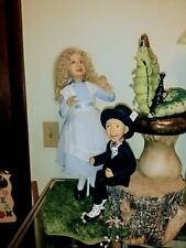 OOAK AUDREY SWARZ ALICE IN WONDERLAND,MAD HATTER AND CATERPILLAR - NEW PHOTOSS