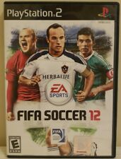 PS2  FIFA Soccer 12 PlayStation 2 Complete With Manual Clean Tested Rare