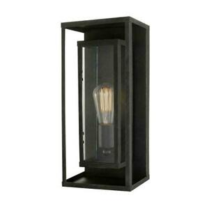 Globe Electric 44228 Montague 1-Light Bronze Outdoor Wall Mount Sconce