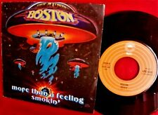 "BOSTON More than a feeling 45 giri 7""+ PS ITALY 1976 MINT First Pressing TOP"