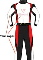 CUSTOMIZED Sublimation Printed Go Kart Race Suit CIK FIA Level 2
